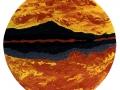Esther-Ramos-1999_06_21-Tondo-Aurora-boreal-PielER-70-O-cms-2